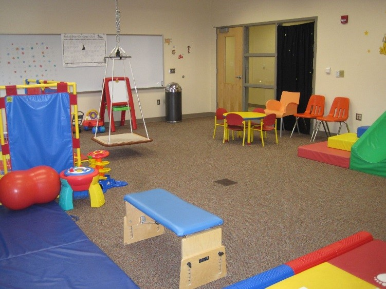 Pediatric Rehabilitation Room